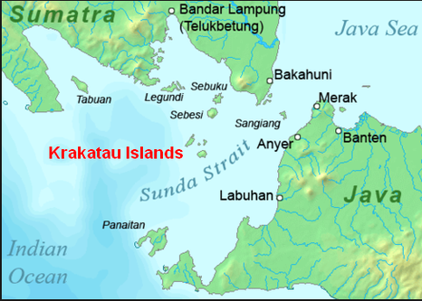 Causes plate tectonics in indonesia figure 23 this is a physical map showing krakatoas location in the sunda strait between java and sumatra in indonesia and is also part of the indonesian gumiabroncs Gallery